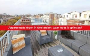 Appartement kopen Amsterdam